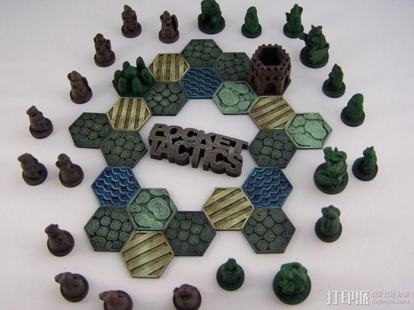 Pocket-Tactics系列游戏棋盘 3D模型  图25