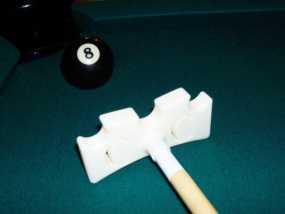 台球桌桥 3D模型