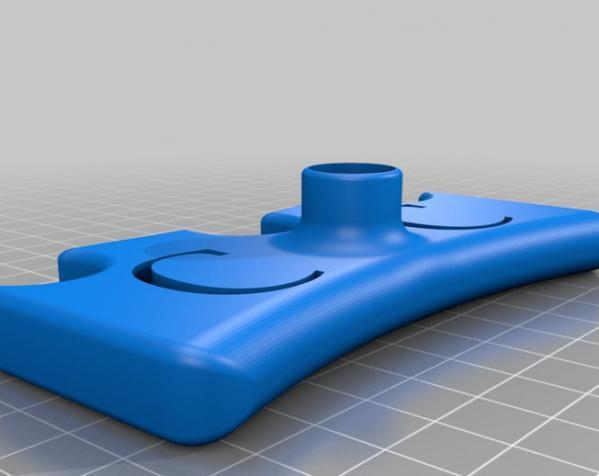 台球桌桥 3D模型  图2