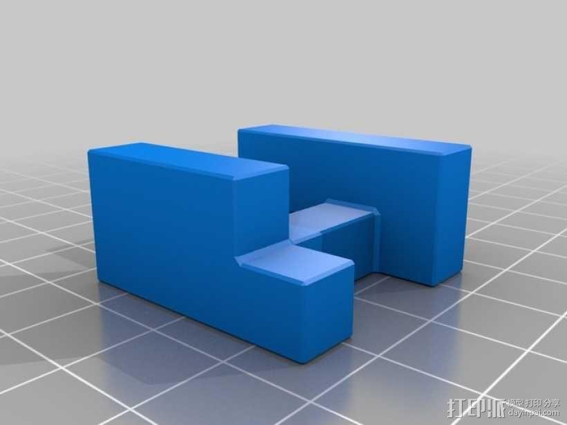 联锁拼图 3D模型  图5