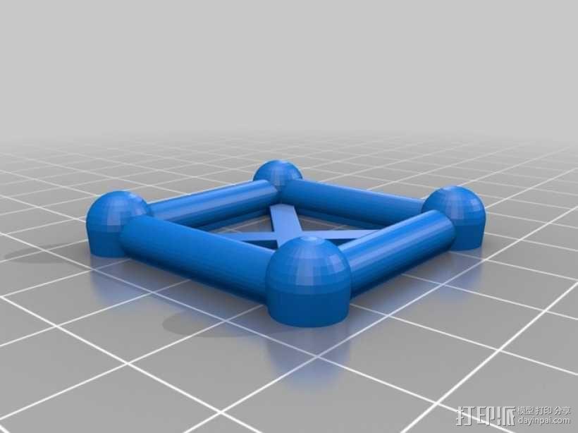 麦格纳结构拼图 3D模型  图1