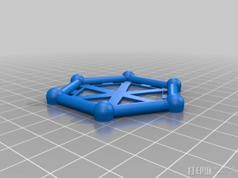 麦格纳结构拼图 3D模型  图2