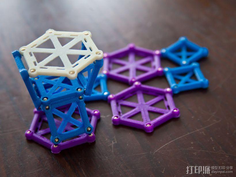 麦格纳结构拼图 3D模型  图4