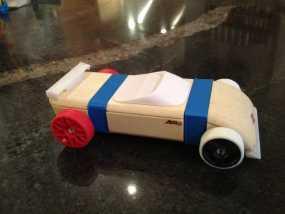 原木拼装车固定架 3D模型