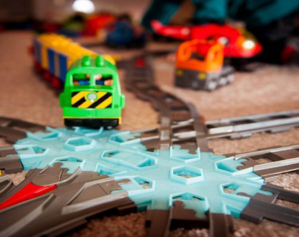交叉铁轨连接器 3D模型  图2