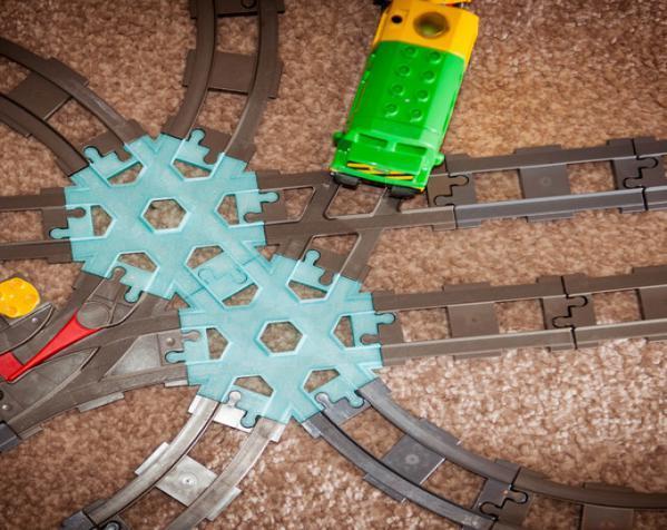 交叉铁轨连接器 3D模型  图3