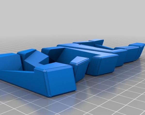 可随意扭转的立体拼图 3D模型  图3