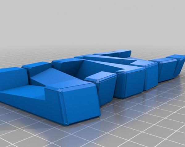 可随意扭转的立体拼图 3D模型  图5