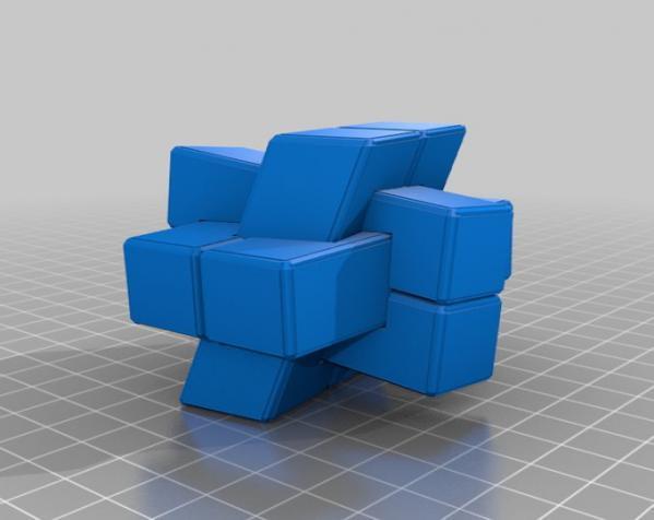 可随意扭转的立体拼图 3D模型  图6