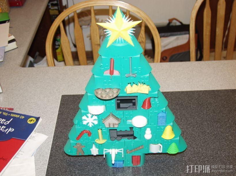 圣诞日历 3D模型  图2