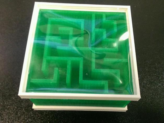 双面迷宫 3D模型  图3