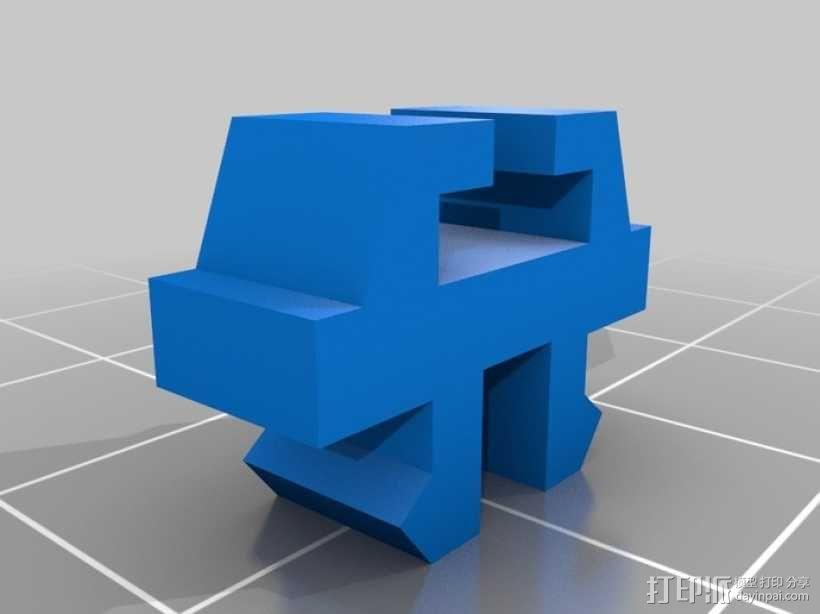 1:32火车卧轨 3D模型  图2