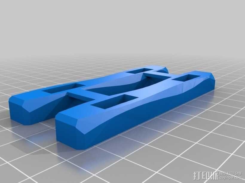 1:32火车卧轨 3D模型  图3