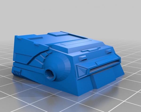 特制步行者 3D模型  图1