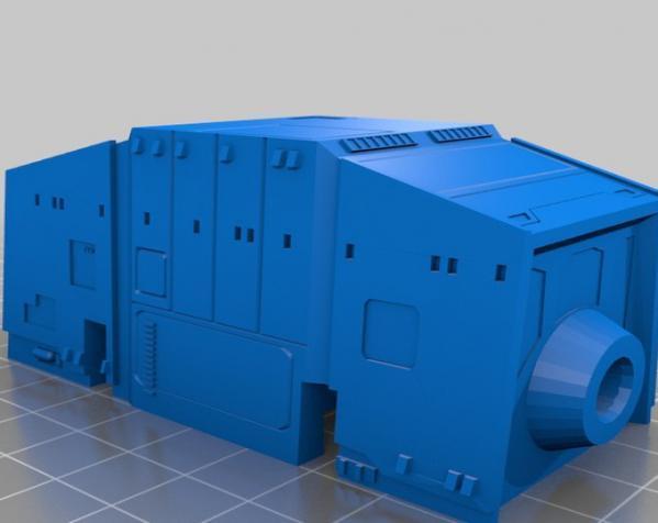 特制步行者 3D模型  图4