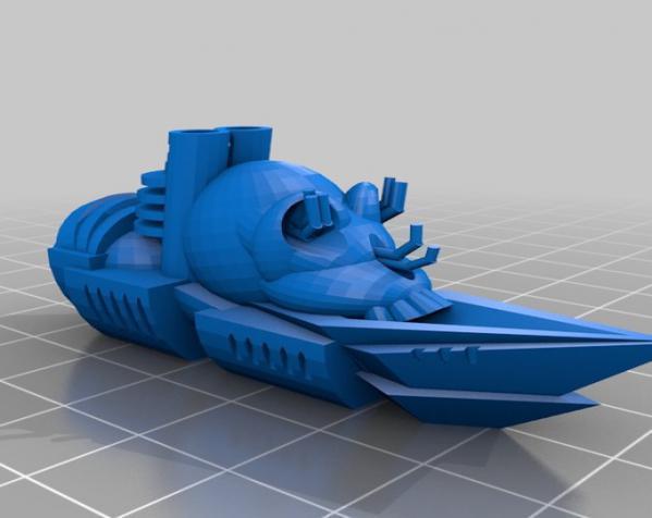 游戏《Ill Gotten Games》中战舰模型 3D模型  图1