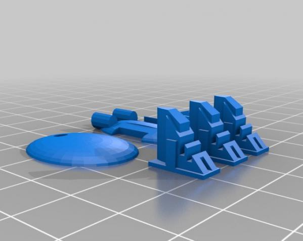 游戏《Ill Gotten Games》中战舰模型 3D模型  图2