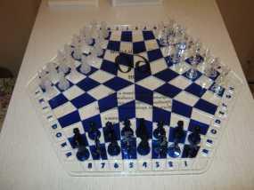三人国际象棋 3D模型