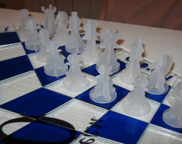 三人国际象棋 3D模型  图2