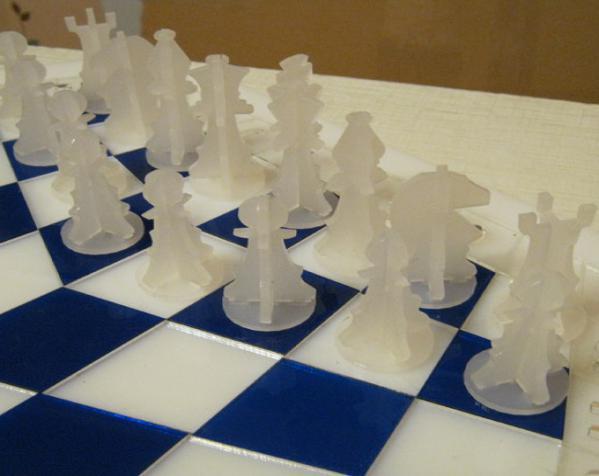 三人国际象棋 3D模型  图13