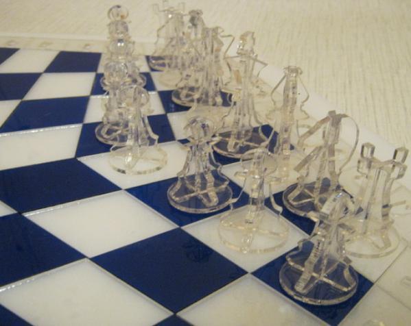 三人国际象棋 3D模型  图11