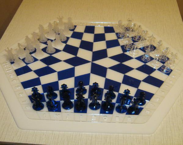 三人国际象棋 3D模型  图10