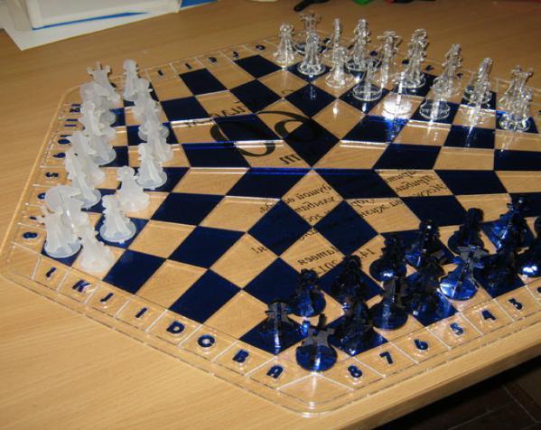 三人国际象棋 3D模型  图9