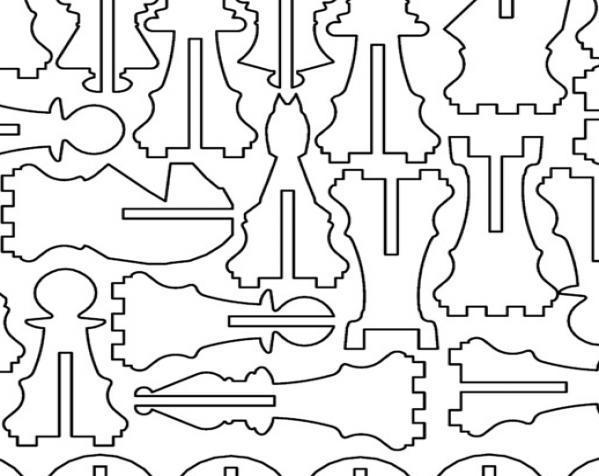 三人国际象棋 3D模型  图14