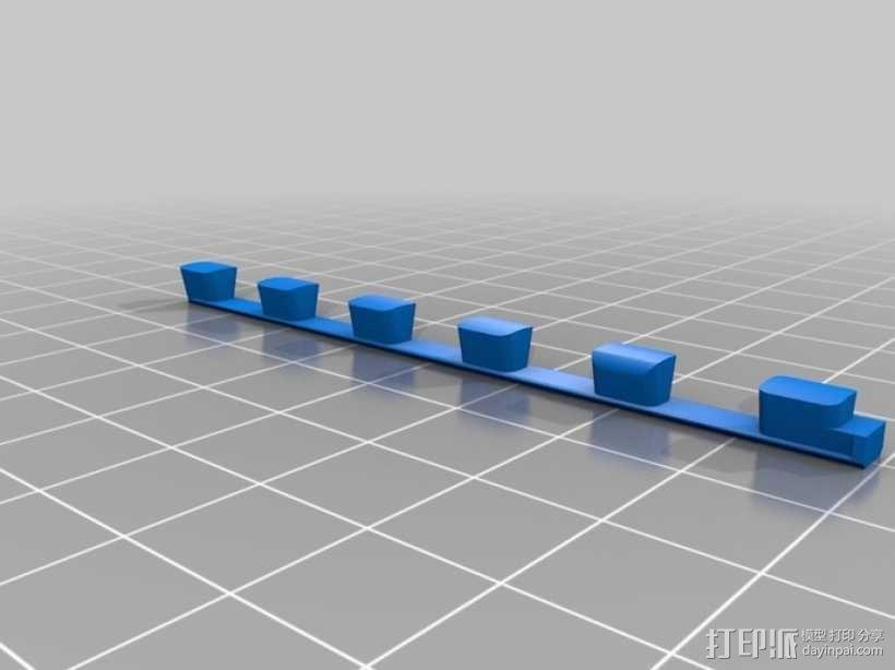 迷你密码筒 3D模型  图5