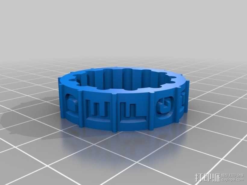 迷你密码筒 3D模型  图10