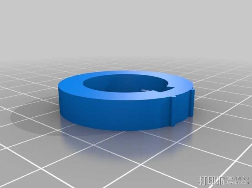 迷你密码筒 3D模型  图9