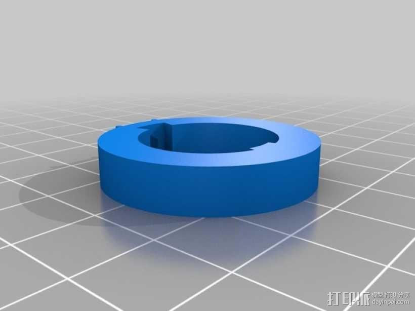 迷你密码筒 3D模型  图8