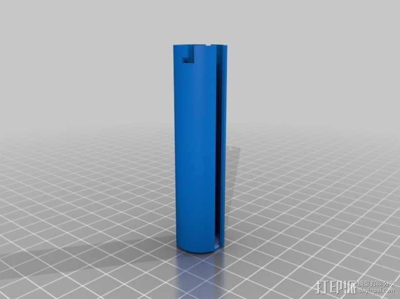 迷你密码筒 3D模型  图14