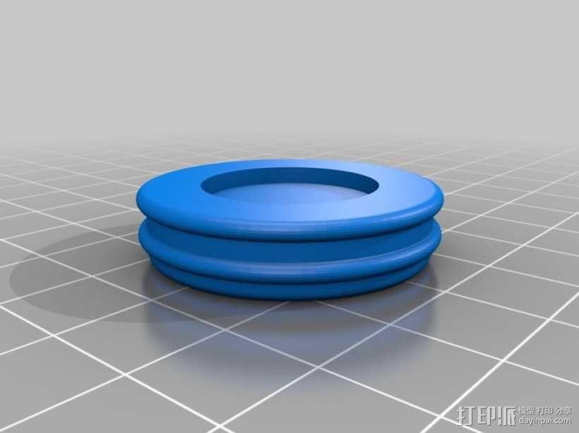 迷你密码筒 3D模型  图13