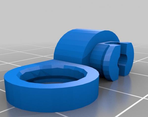 关节蛇玩具 3D模型  图1