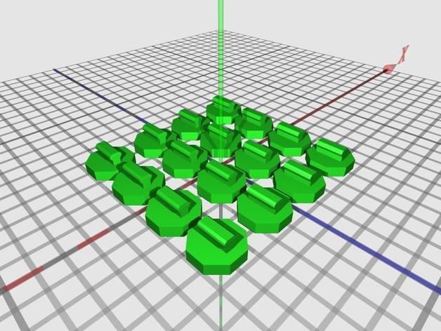关节蛇玩具 3D模型  图3