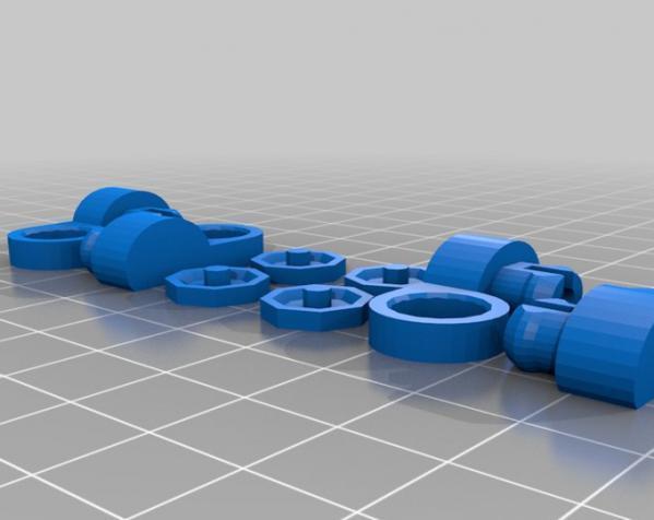 关节蛇玩具 3D模型  图6