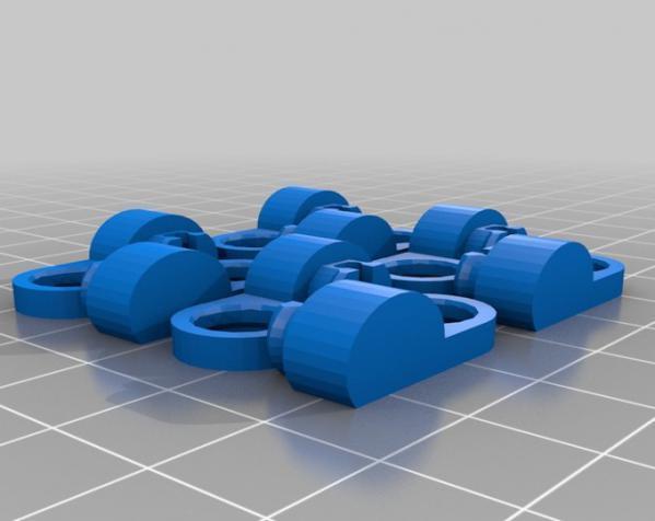 关节蛇玩具 3D模型  图4