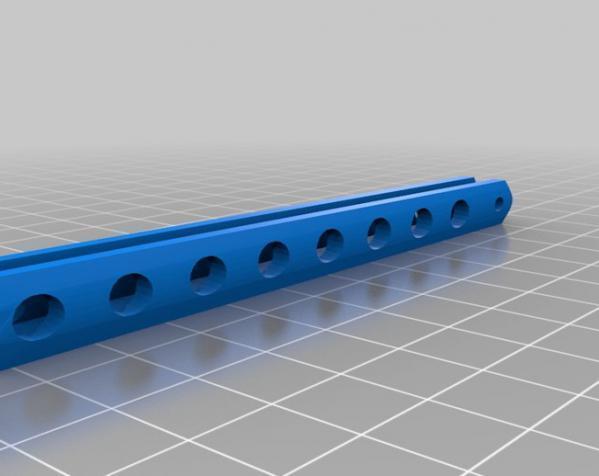蝶形梳子 3D模型  图4
