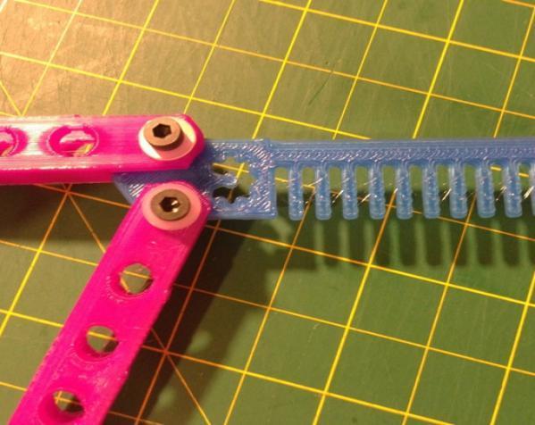 蝶形梳子 3D模型  图6