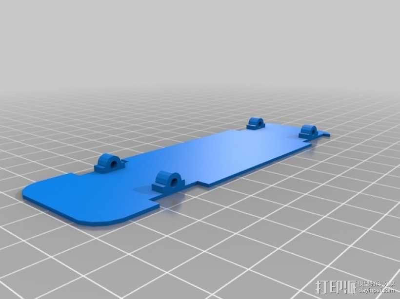 双层大巴 3D模型  图3