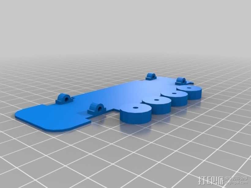 双层大巴 3D模型  图6