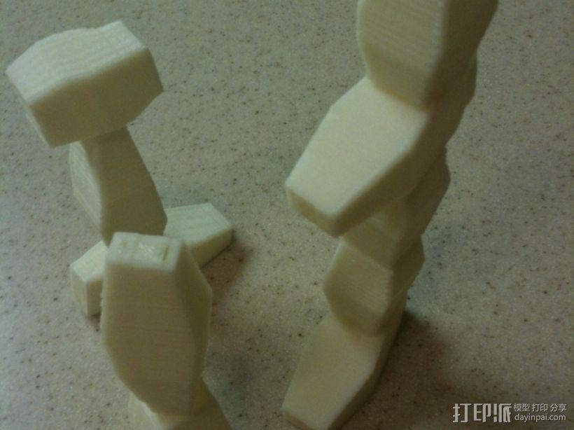 方块游戏模型 3D模型  图2