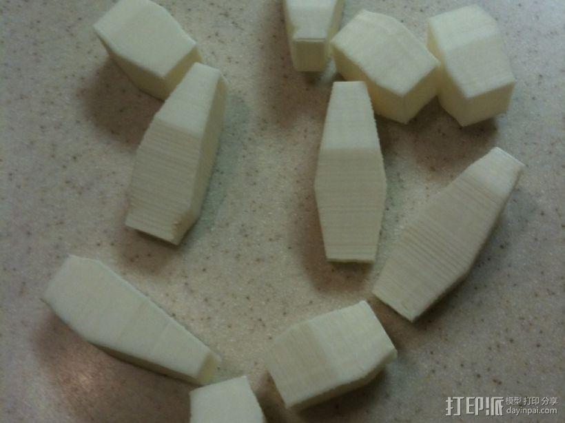 方块游戏模型 3D模型  图1