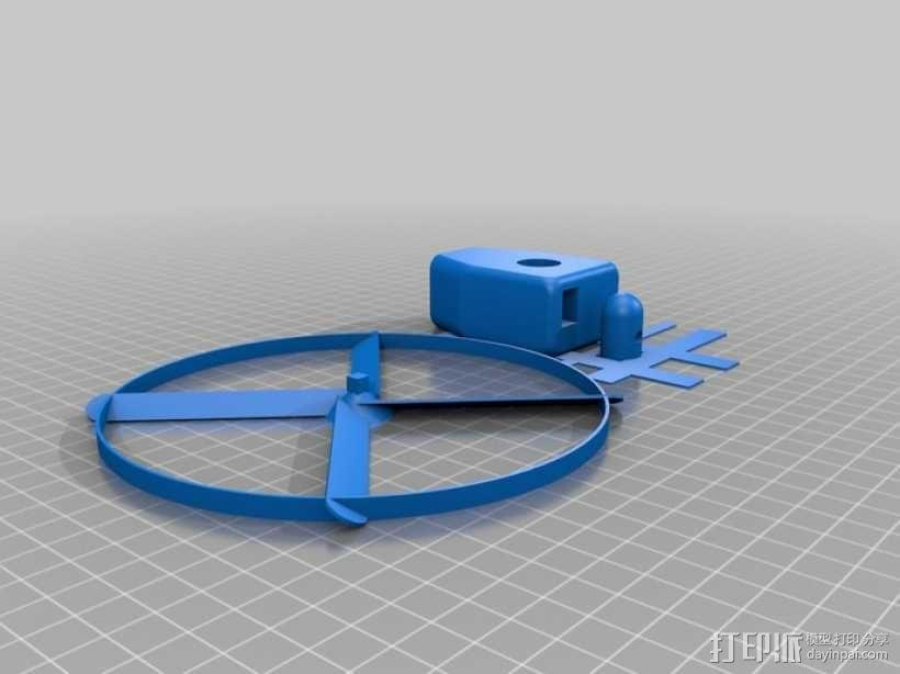 旋转机模型 3D模型  图4