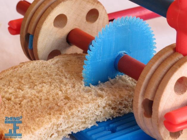 tinkeriffic锯木机 3D模型  图1