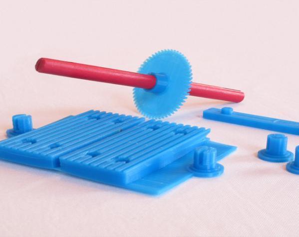 tinkeriffic锯木机 3D模型  图2