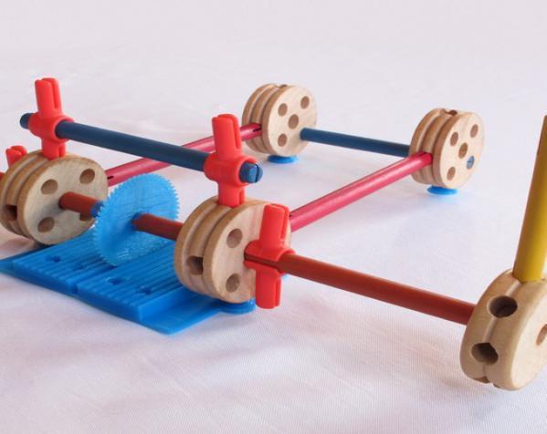 tinkeriffic锯木机 3D模型  图3