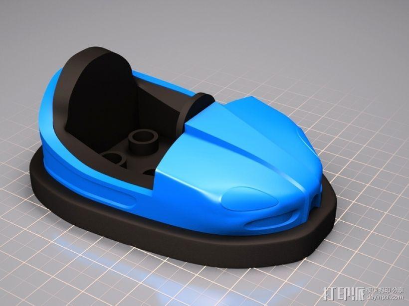 碰碰车 3D模型  图5
