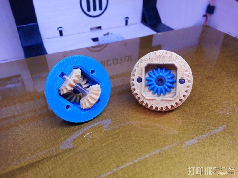 1:10遥控差速器 3D模型  图1